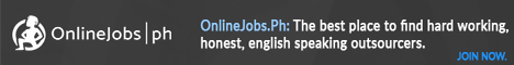 OnlineJobs.ph Banner 468x60