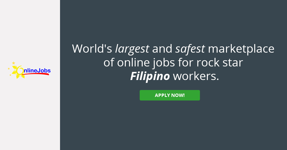Hire the best Filipino employees and virtual assistants the Philippines has to offer!